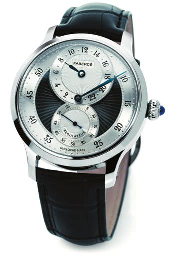 AGATHON REGULATEUR GRISE WATCH by Fabergé