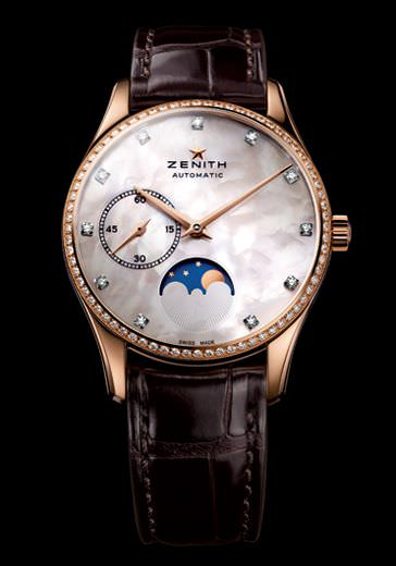 HERITAGE ULTRA THIN LADY MOONPHASE by Zenith