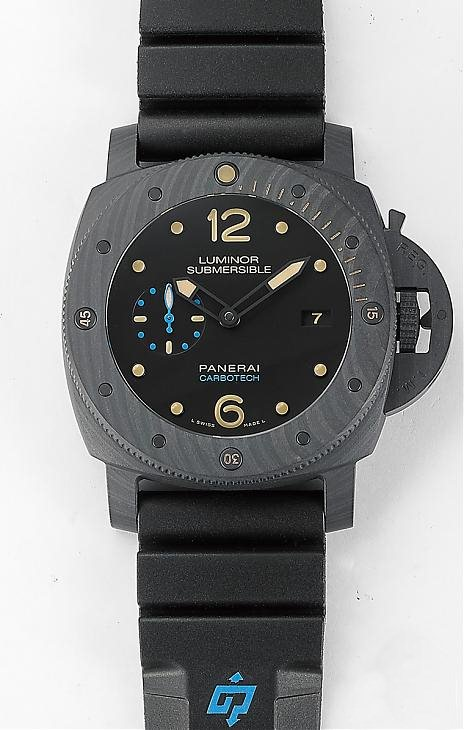 Luminor Submersible 1950 Carbontech PAM00616