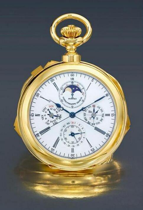 PATEK PHILIPPE Ref.942/2 Grande and Petite Sonnerie Clock Watch 成交价:468,500美元 图片来源:Sotheby's