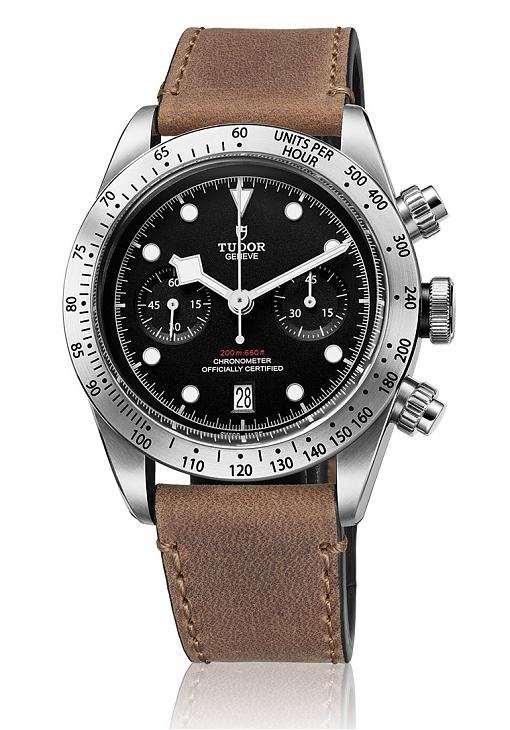 Heritage Black Bay Chrono皮表带款