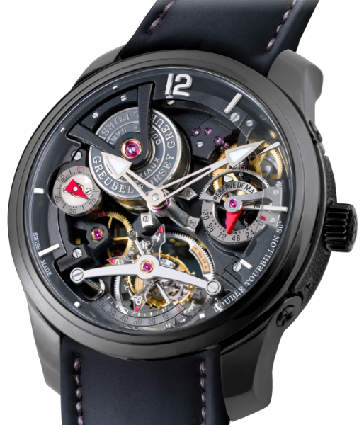 2013 SIHH 日内瓦高级钟表沙龙——高珀富斯(Greubel Forsey)Double Tourbillon Technique Black腕表