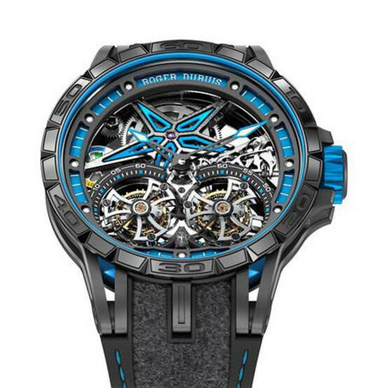 Excalibur Spider Pirelli Double Flying Tourbillon Limited Edition
