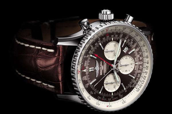 cheap for discount 5683b cc900 終極時計,百年靈Breitling 航空計時雙追針腕表