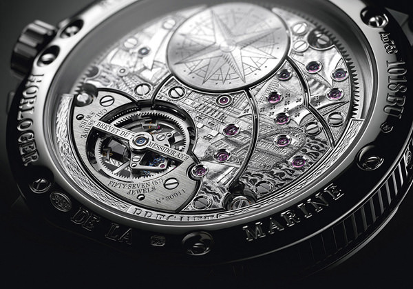 宝玑 Breguet 航海系列全新5887超卓复杂功能腕表