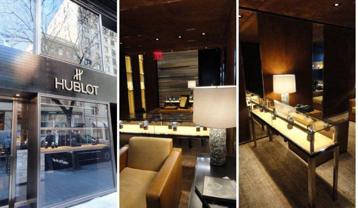 宇舶巴黎旺多姆广场专卖店相同的概念,著名的纽约明星建筑师Peter 图片