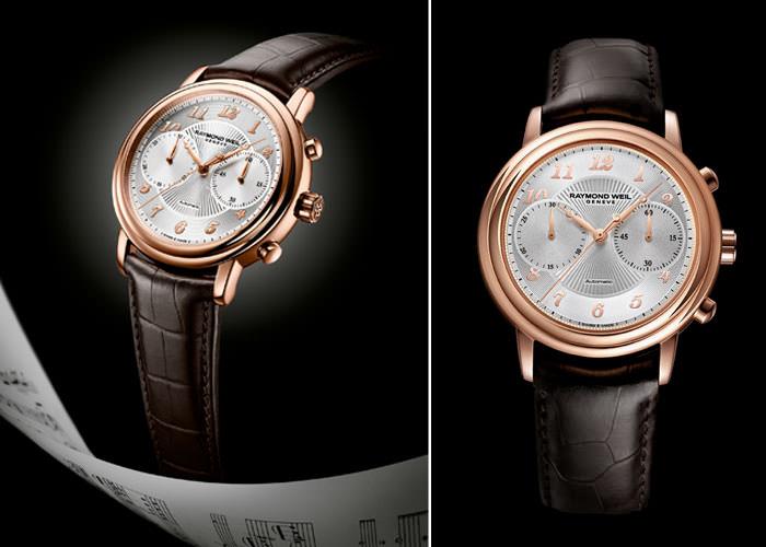 Raymond Weil 雷蒙威推出全新Maestro計時腕表