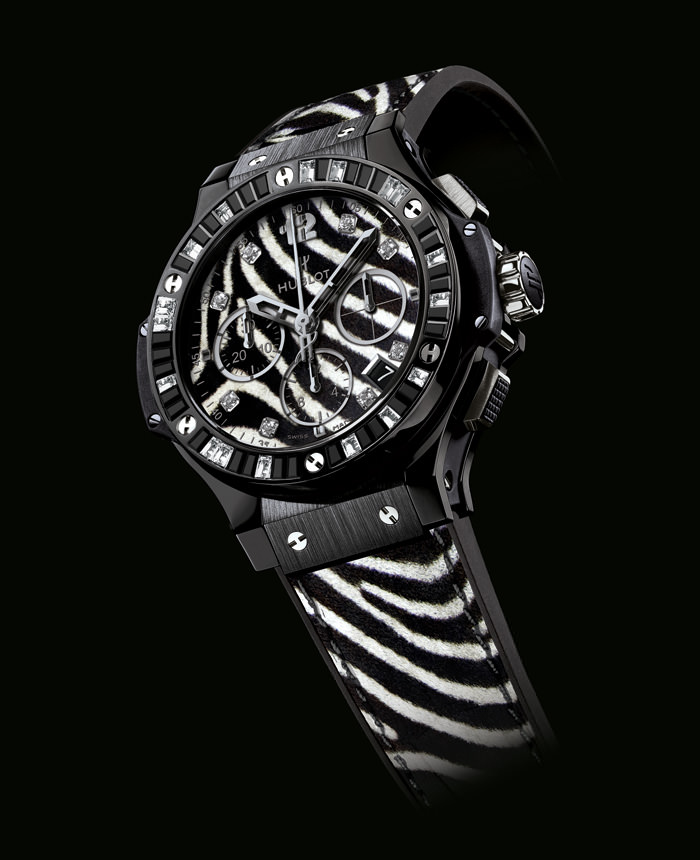 "Hublot 宇舶BIG BANG ""ZEBRA BANG"" 斑马纹腕表"